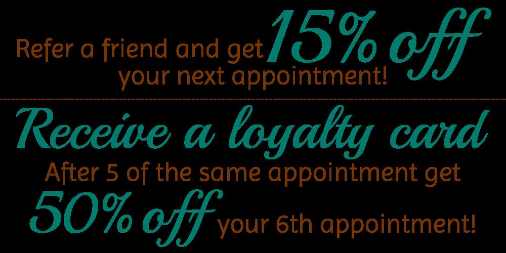 Strip and Glow Loyalty Programme